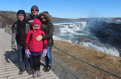 The Girard family's travel adventures