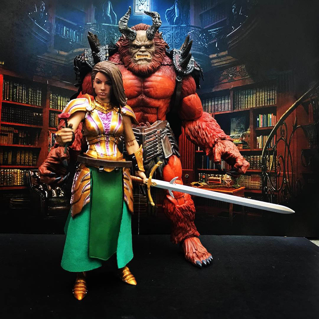 Mythic Legions Beauty and the Beast custom