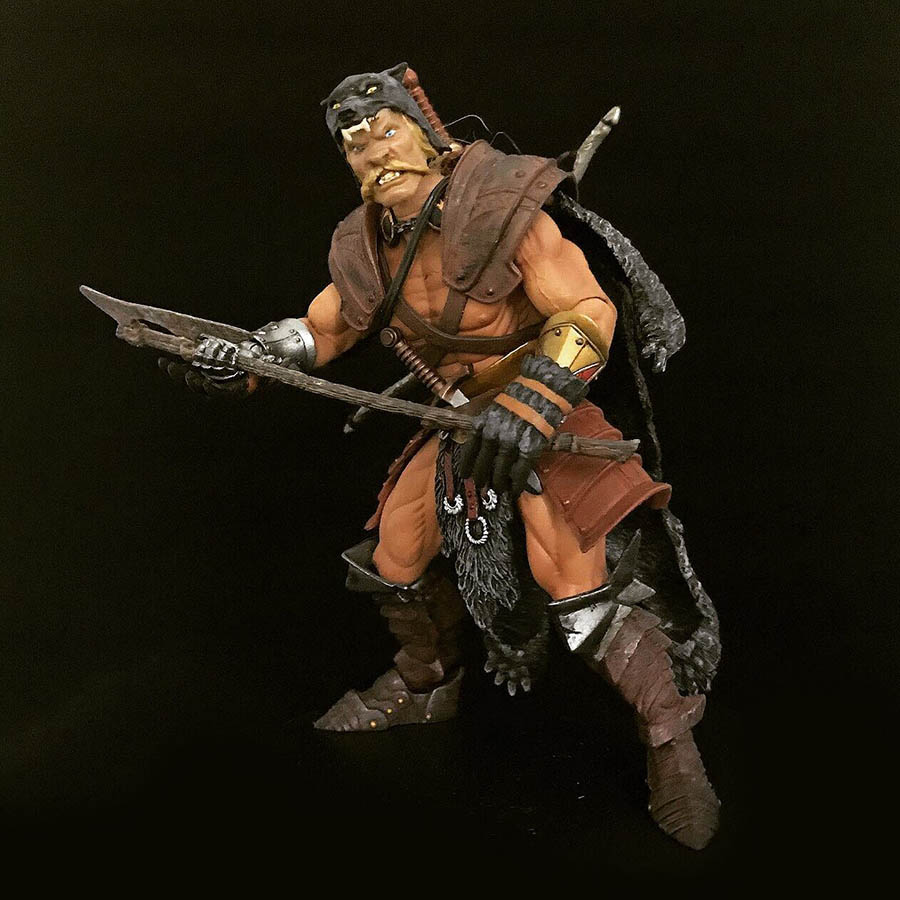 Mythic Legions Trapper custom