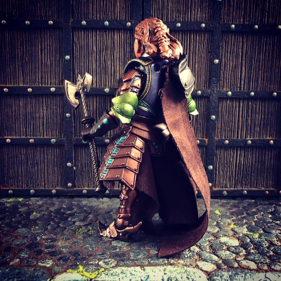 Mythic Legions Dwarf female custom