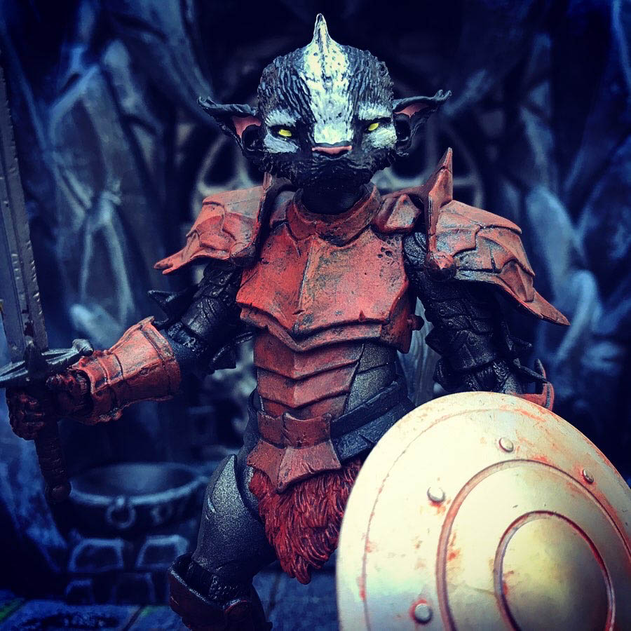 Mythic Legions Stinkor custom