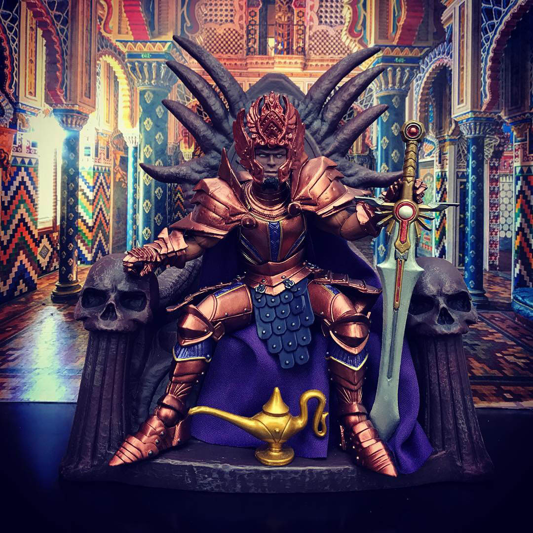 Mythic Legions Lord Solomon custom
