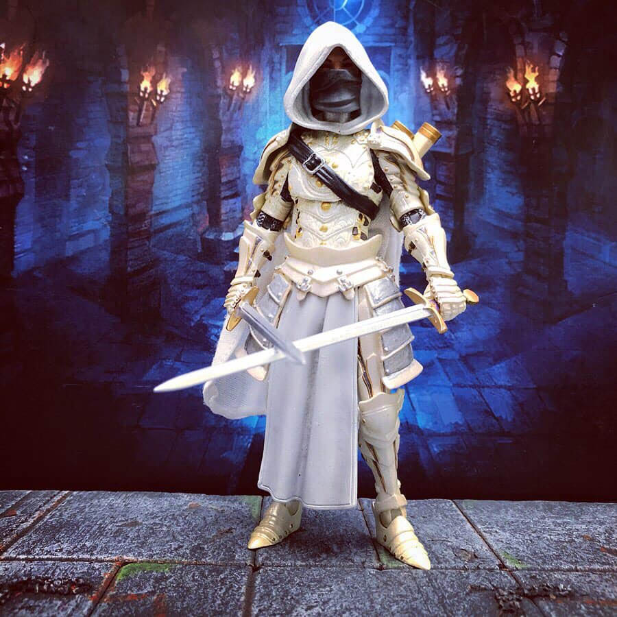 Mythic Legions Storm Shadow custom